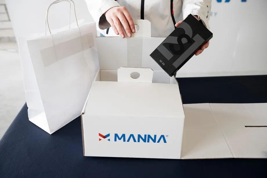 Samsung Partners With Manna DL3