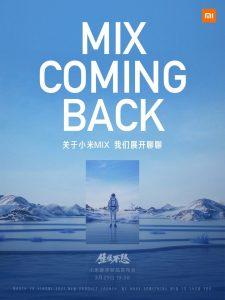 Xiaomi Mi Mix 29 March