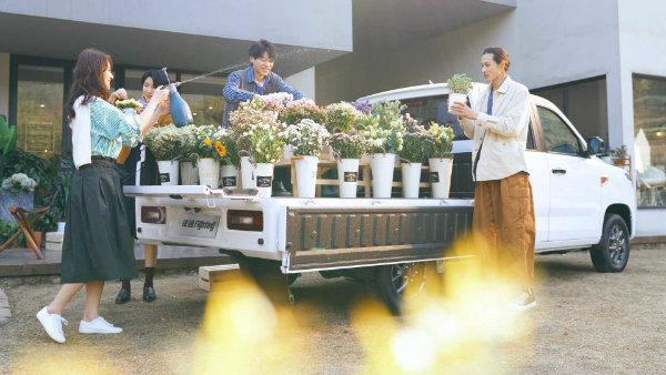 wuling zhengtu pickup flowers