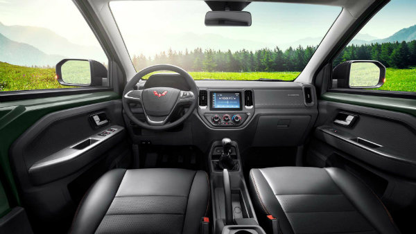 wuling zhengtu pickup interior