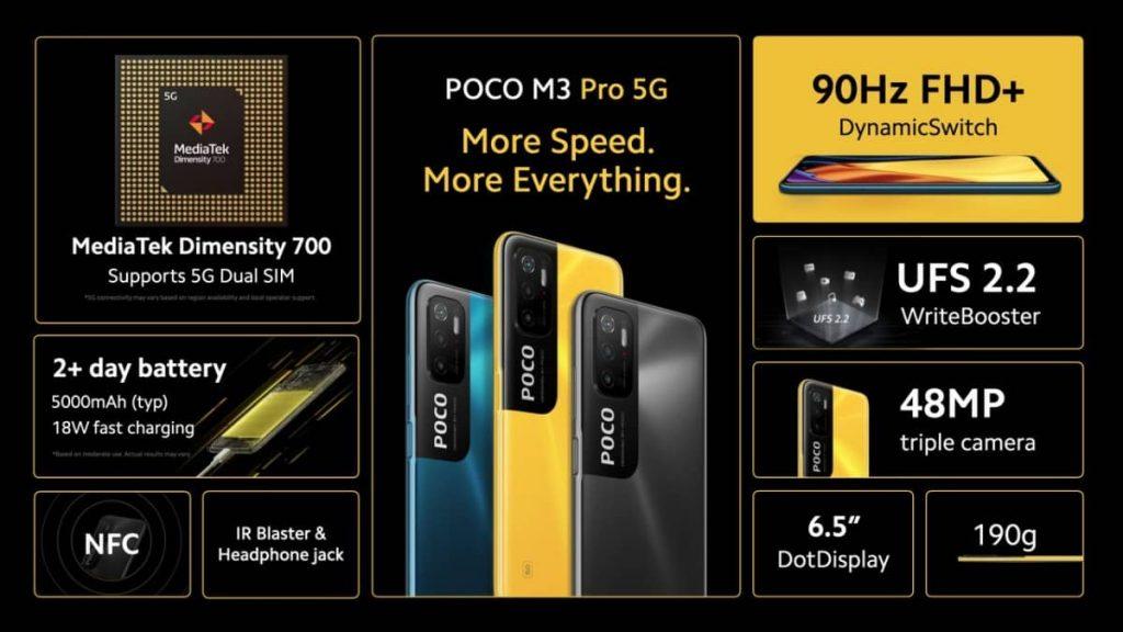 Poco M3 Pro 5G 2 1 1
